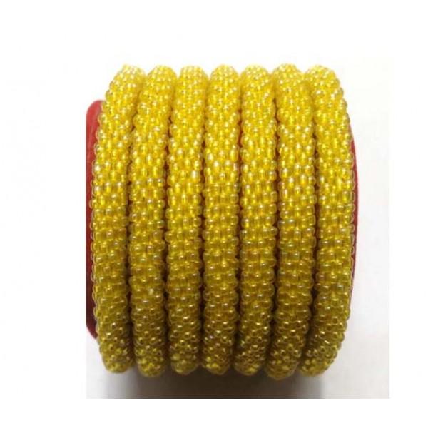 Roll on Glass Beads Bracelets - Crochet Beads Bracelets - Women Bracelets - Handmade in Nepal