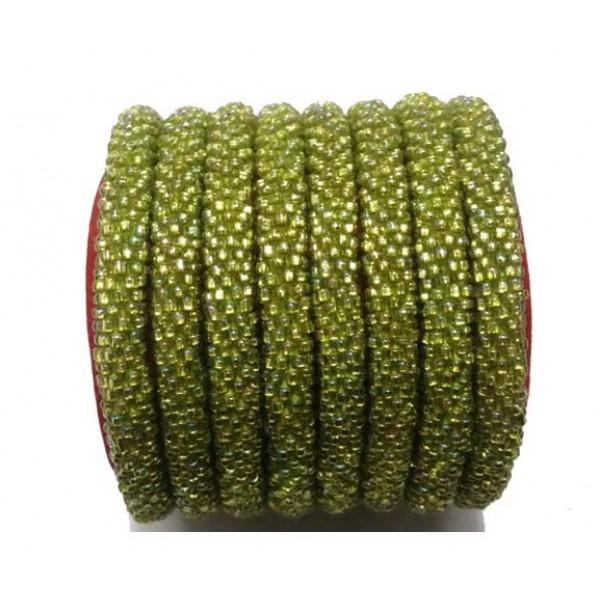 Roll on Glass Beads Bracelets - Glass Beads Bracelets - Handmade Bracelets