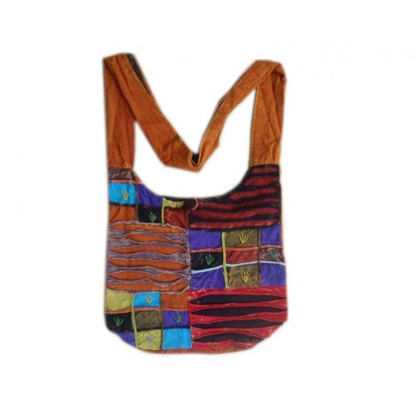 Nepal Cotton Bag - Fashion Bag - Shoulder Bag - Unisex Bag - ACC-BG-001