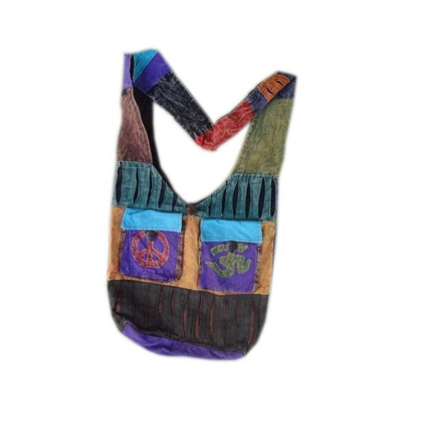 Nepal Cotton Bag - Fashion Bag - Shoulder Bag - Unisex Bag - ACC-BG-002