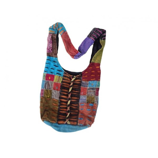Nepal Cotton Bag - Fashion Bag - Shoulder Bag - Unisex Bag - ACC-BG-003