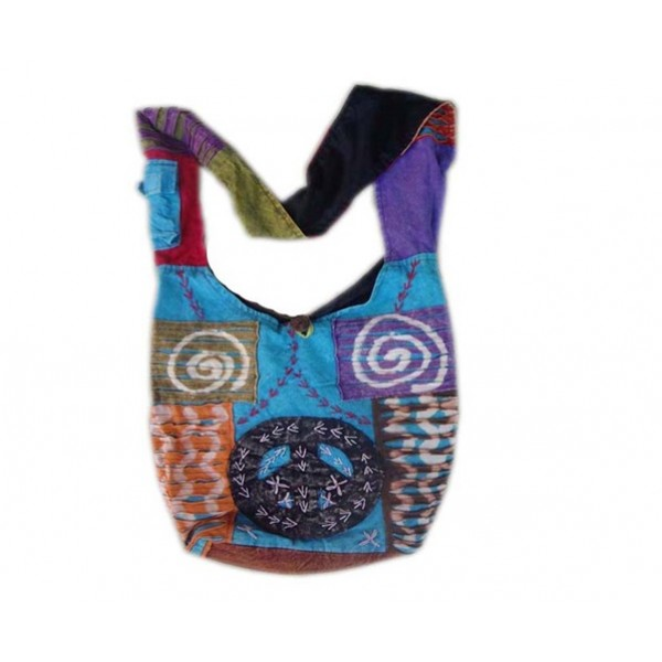Nepal Cotton Bag - Fashion Bag - Shoulder Bag - Unisex Bag - ACC-BG-004