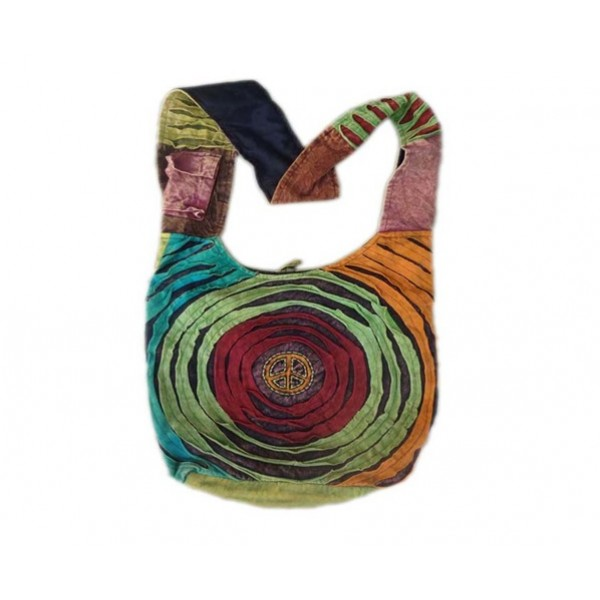 Nepal Cotton Bag - Fashion Bag - Shoulder Bag - Unisex Bag - ACC-BG-005