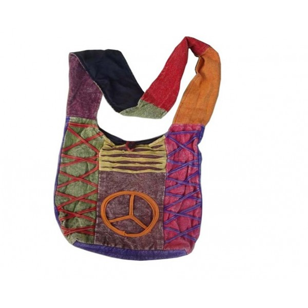 Nepal Cotton Bag - Fashion Bag - Shoulder Bag - Unisex Bag - ACC-BG-006