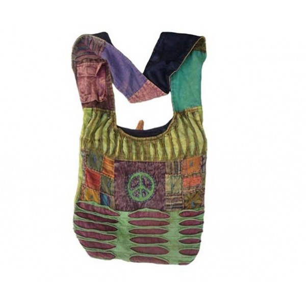 Nepal Cotton Bag - Fashion Bag - Shoulder Bag - Unisex Bag - ACC-BG-007