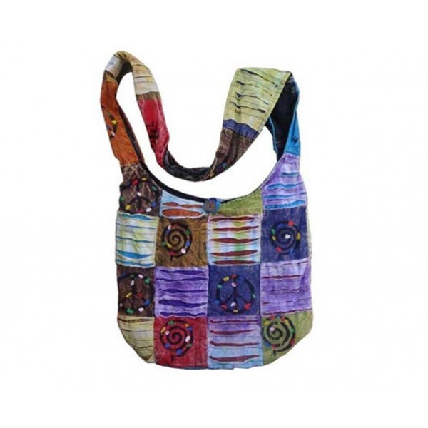 Nepal Cotton Bag - Fashion Bag - Shoulder Bag - Unisex Bag - ACC-BG-008