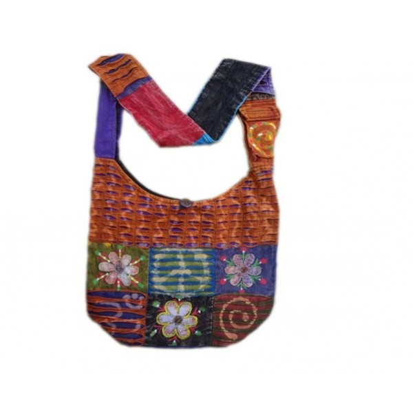 Nepal Cotton Bag - Fashion Bag - Shoulder Bag - Unisex Bag - ACC-BG-009