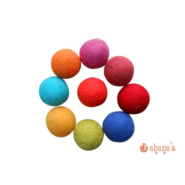 Wool Felt Balls