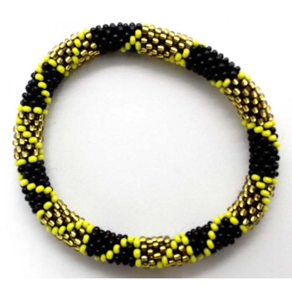 Ahana's Beads Bracelets - Friendship Bracelets - Beaded Bracelets - Crochet Seed Bracelets - Jewelry - BD-072