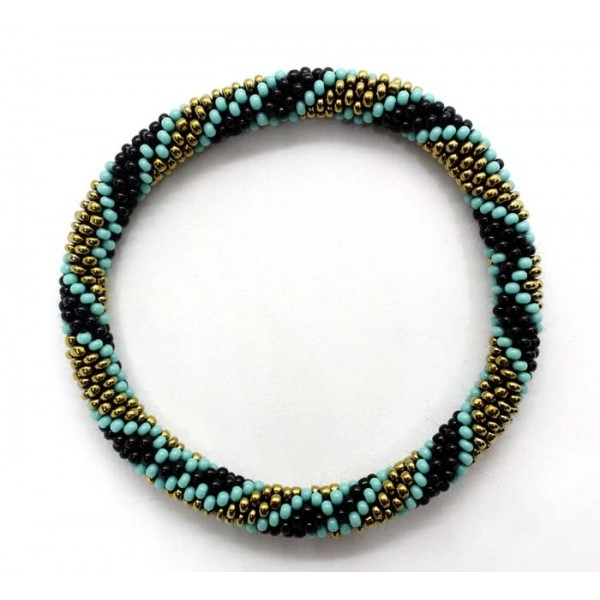 Ahana's Beads Bracelets - Bracelets Bangle - Beaded Bracelets - Crochet Seed Bracelets - Jewelry - BD-073