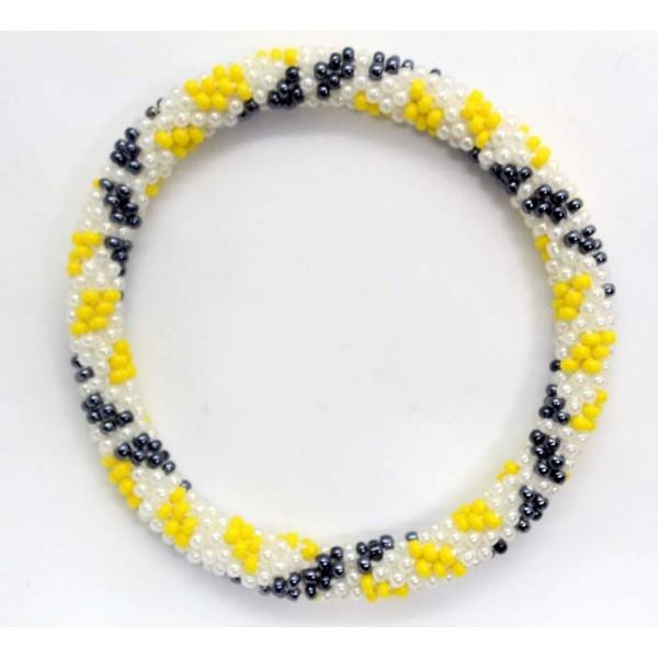 Ahana's Beads Bracelets - Nepal Glass Beads Bracelets - Fashion Bracelets - Jewelry - BD-089