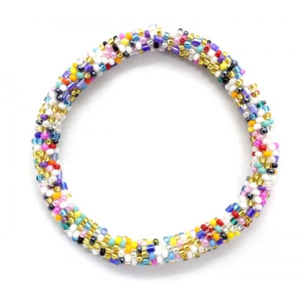Ahana's Beads Bracelets - Glass Beaded Nepal Bracelets - Fashion Bracelets - Jewelry - BD-102