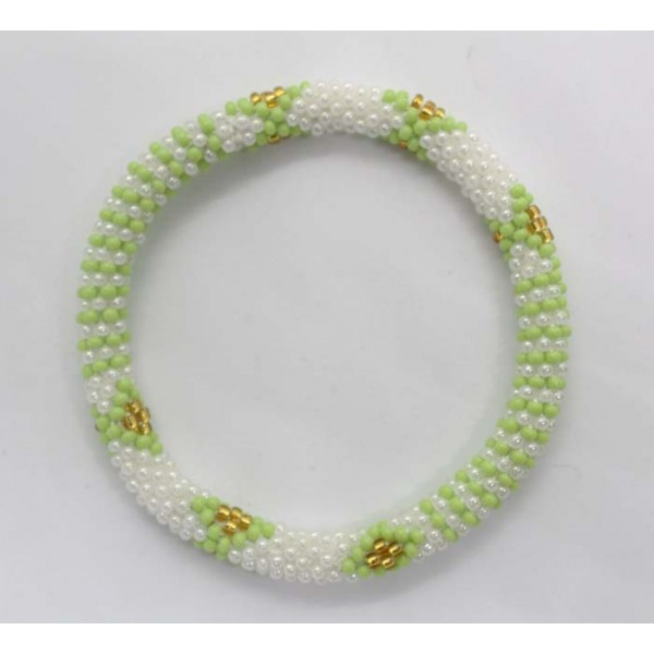 Ahana's Beads Bracelets - Glass Beaded Nepal Bracelets - Fashion Bracelets - Jewelry - BD-103