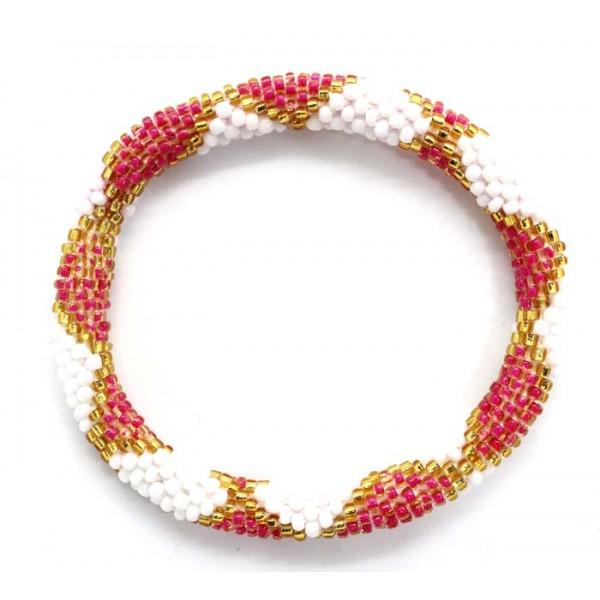 Ahana's Beads Bracelets - Glass Beaded Nepal Bracelets - Fashion Bracelets - Jewelry - BD-106