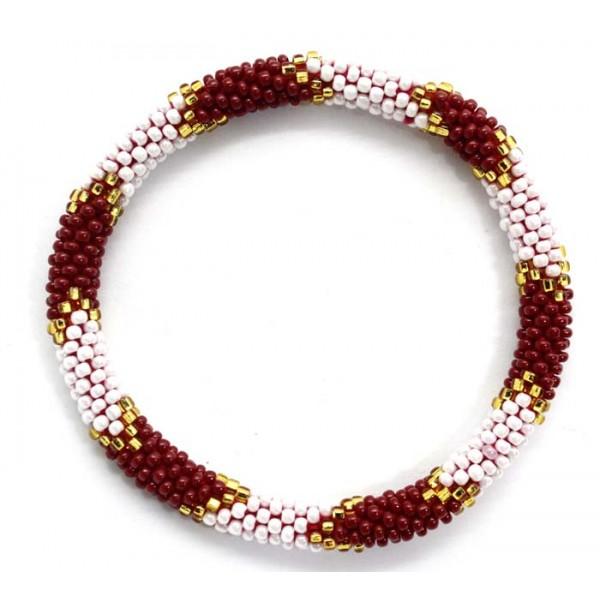 Ahana's Beads Bracelets - Glass Beaded Nepal Bracelets - Fashion Bracelets - Jewelry - BD-107