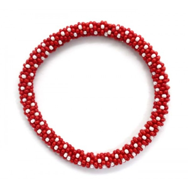 Ahana's Beads Bracelets - Glass Beaded Nepal Bracelets - Fashion Bracelets - Jewelry - BD-108