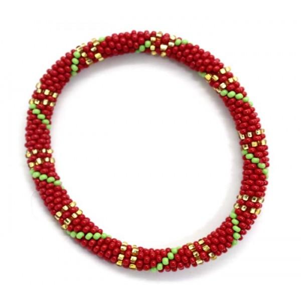 Ahana's Beads Bracelets - Glass Beaded Nepal Bracelets - Fashion Bracelets - Jewelry - BD-109