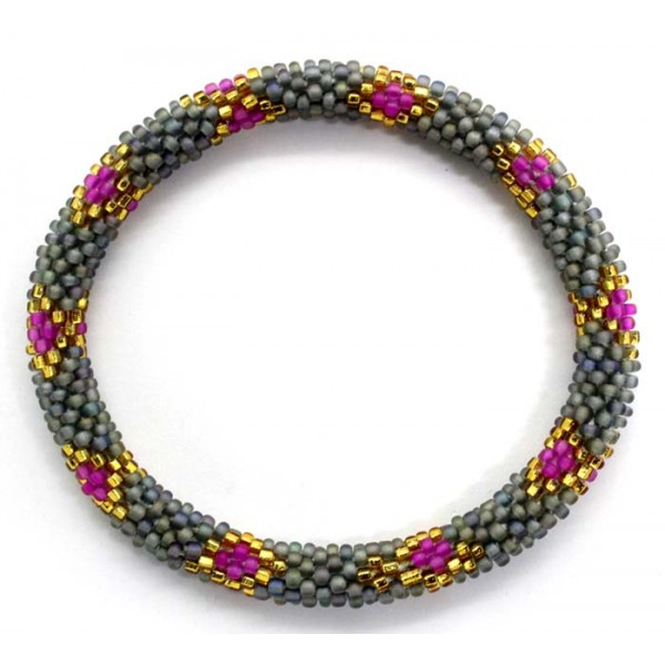 Ahana's Beads Bracelets - Glass Beaded Nepal Bracelets - Fashion Bracelets - Jewelry - BD-145