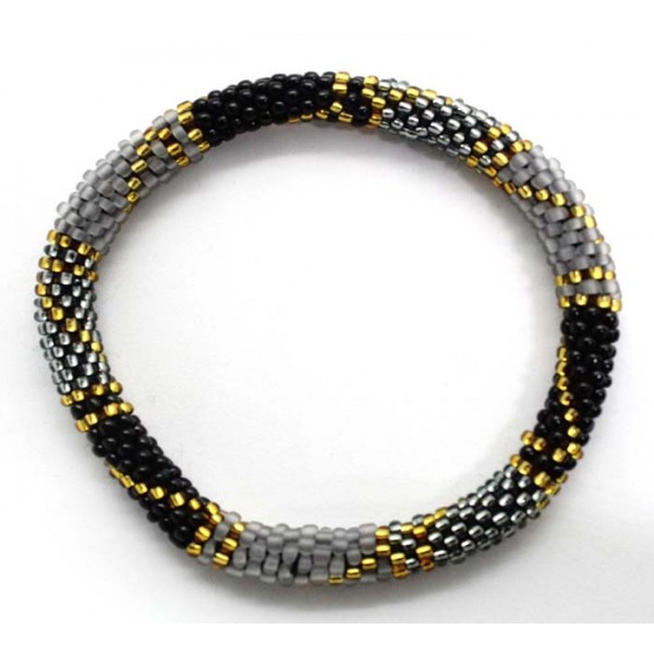 Ahana's Beads Bracelets - Glass Beaded Nepal Bracelets - Fashion Bracelets - Jewelry - BD-153
