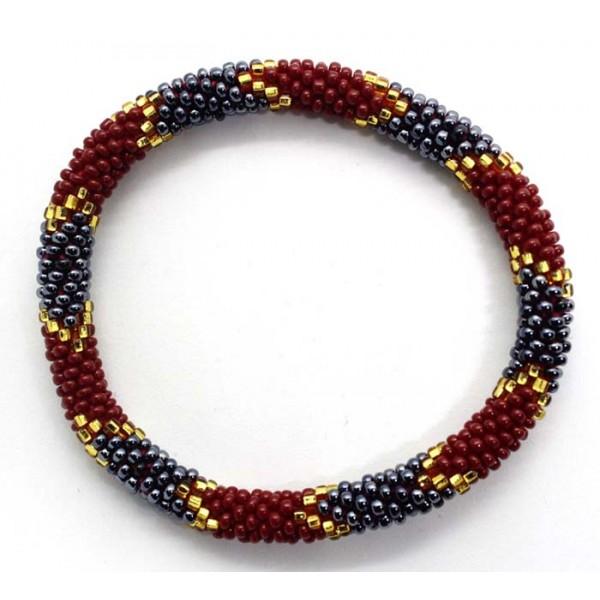 Ahana's Beads Bracelets - Glass Beaded Nepal Bracelets - Fashion Bracelets - Jewelry - BD-155