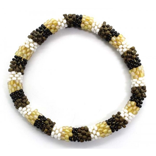 Ahana's Beads Bracelets - Glass Beaded Nepal Bracelets - Fashion Bracelets - Jewelry - BD-160