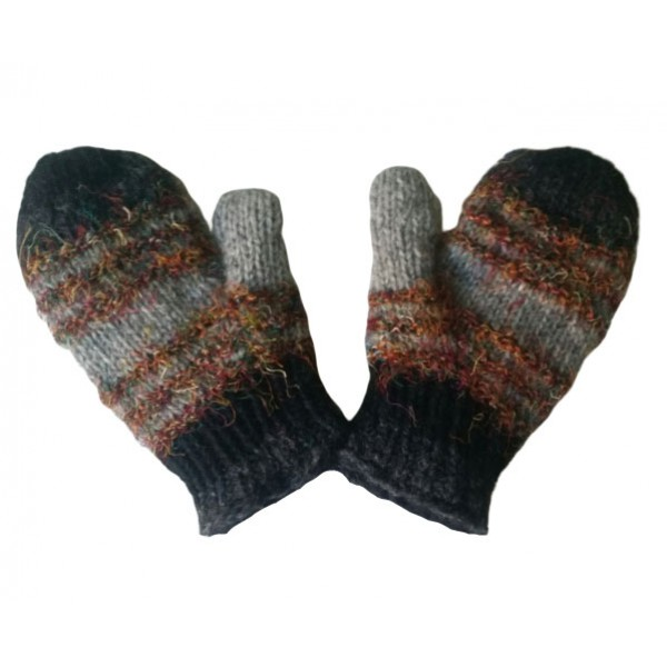 Woolen Gloves - Hand Knitted Winter Gloves - Made in Nepal